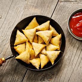 Tasty & Healthy Indian Samosas